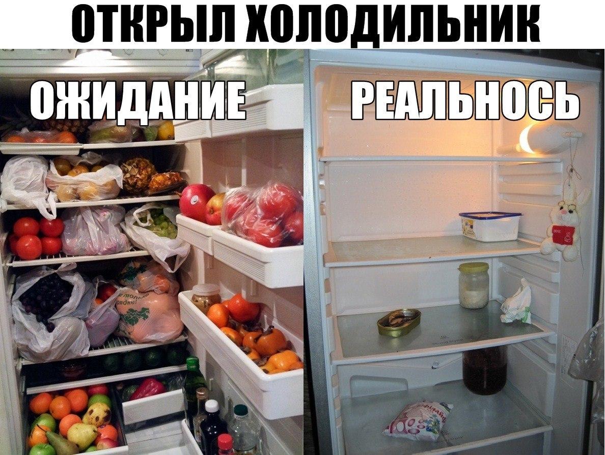 Прикольные картинки пустой холодильник, своими руками день