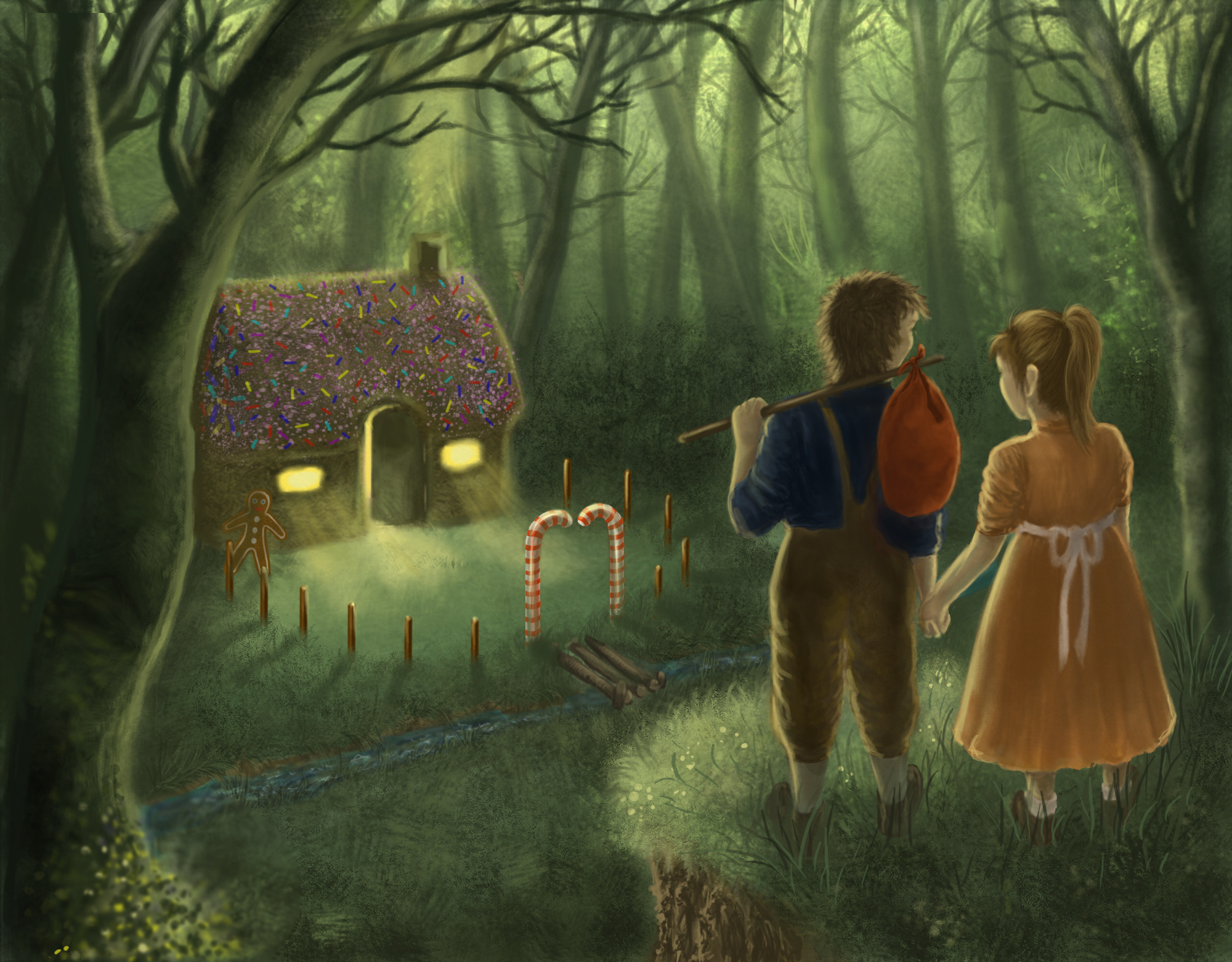 an analysis of the characters in the hansel and gretel a fairy tale by wilhelm grimm The theme of hansel and gretel addresses survival and resilience in a world of food scarcity and deprivation evil is introduced as one strategy of survival, but it is overcome by the clever children the sin of gluttony in the guise of the witch and the gingerbread house is also acknowledged.