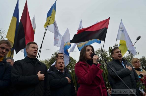 Забег Саакашвили по Украине: жалкое зрелище