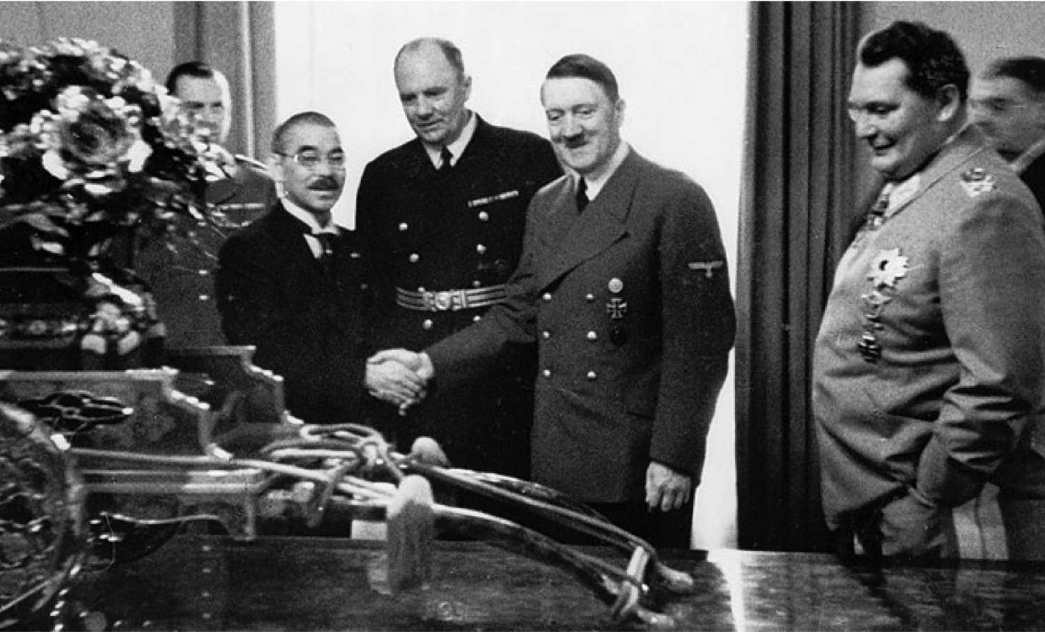 fascist italy nazi germany and imperial japan Other problems: italy was allied with germany bc it was fascist (mussolini invented fascism) russia was not unified until the 19th century, centuries after japan.