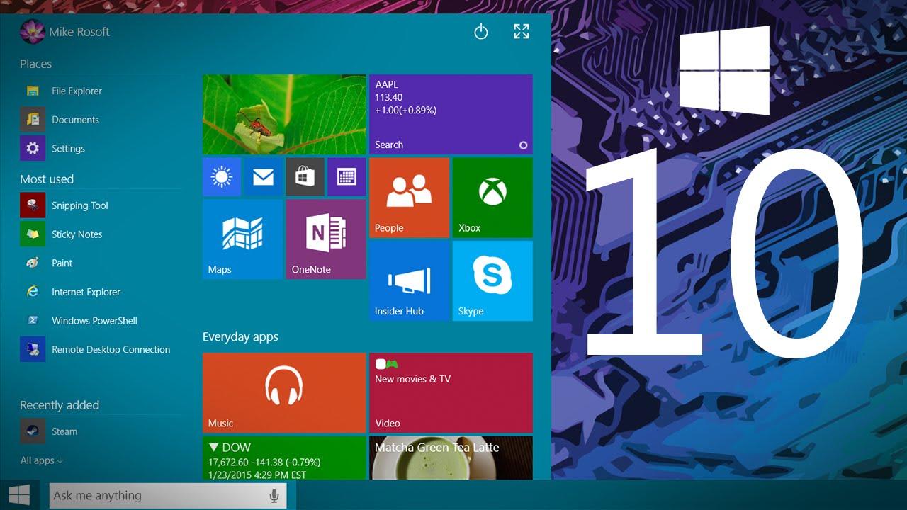 Как правильно использовать Windows 10