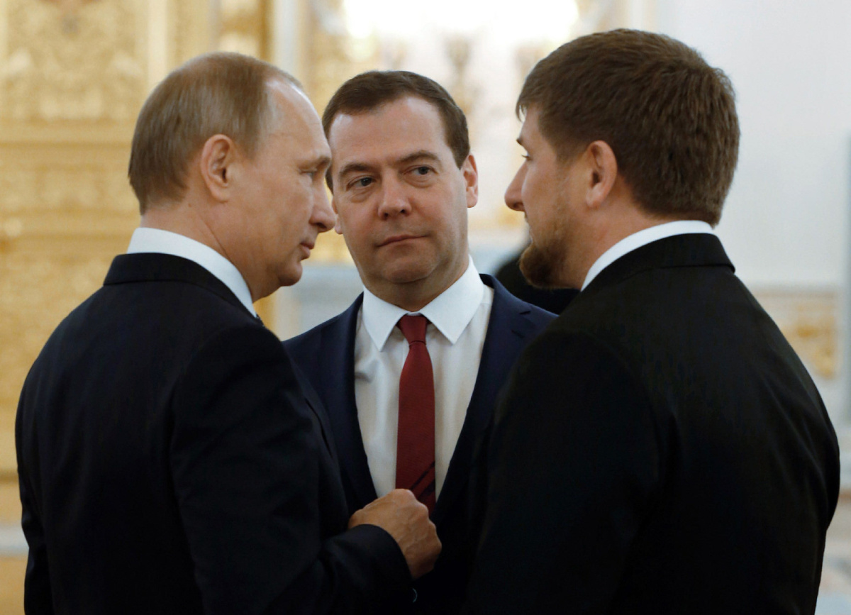 Первая встреча Путина с Рамзаном Кадыровым  YouTube