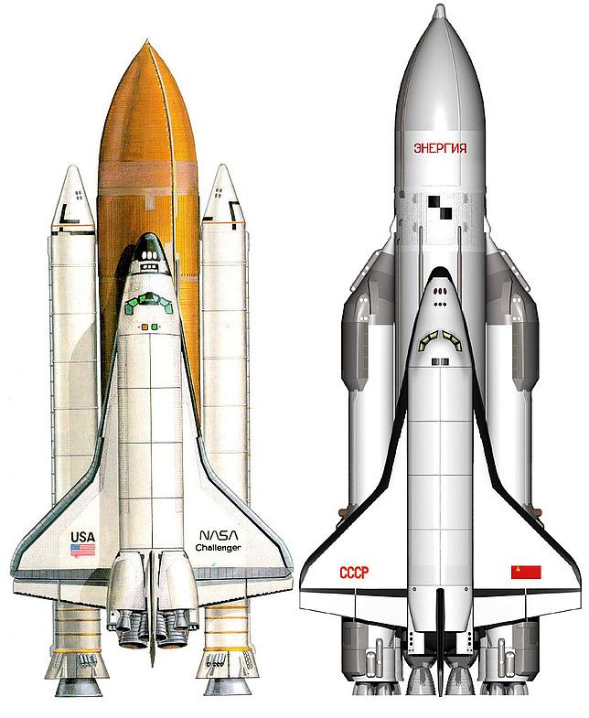 """Space Shuttle против """"Энергия-Буран"""""""