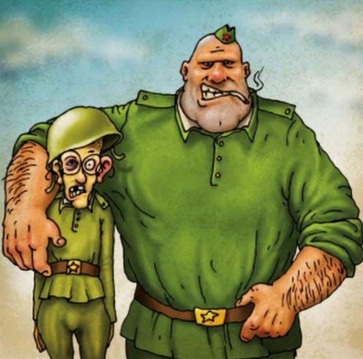 Смешные картинки на армейскую тему