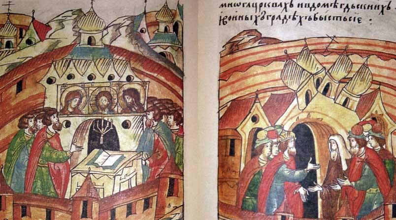 древнерусские летописцы картинки проще всего