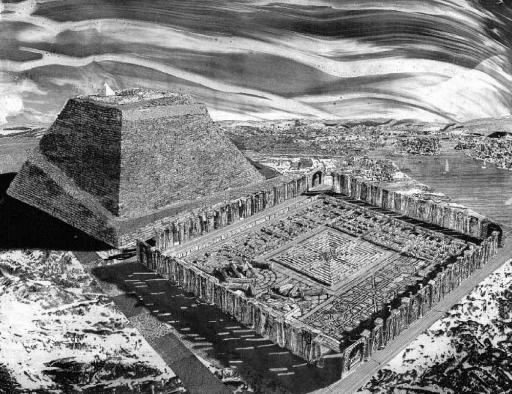 Египетский лабиринт хранит тайны древних цивилизаций