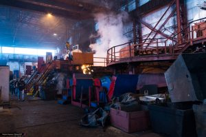 Сделано в ДНР. Снова работает Макеевский литейный завод