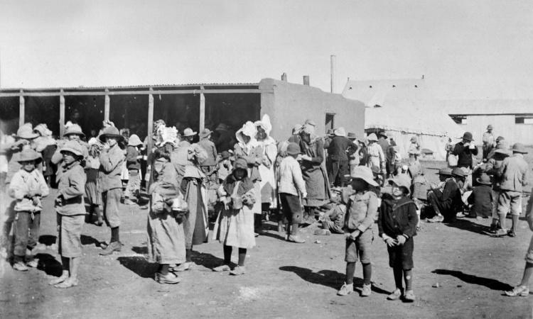 Британские концлагеря для 8-летних пленных буров