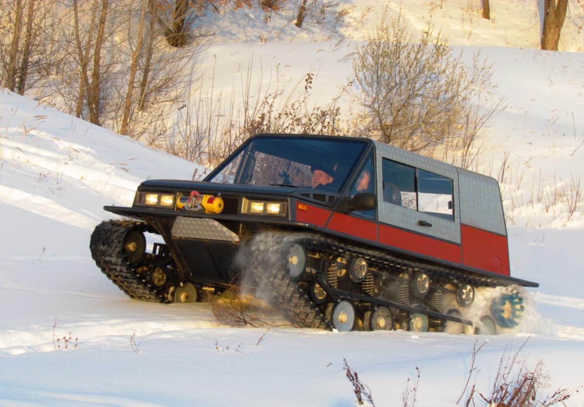 Снегоболотоходы на гусеницах — photo 4