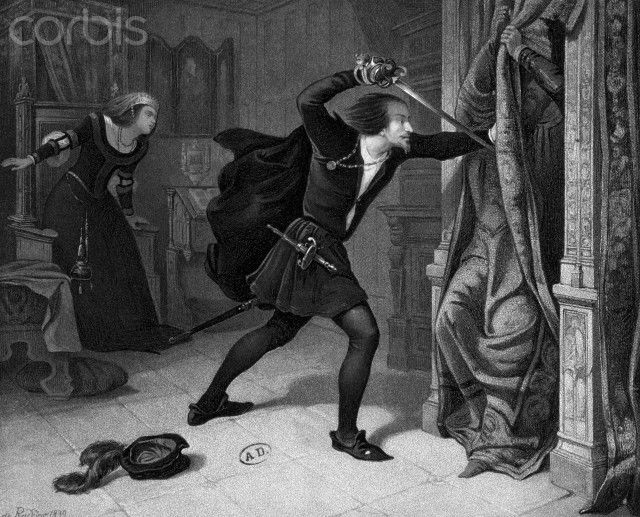 the death of a character in the play hamlet by william shakespeare