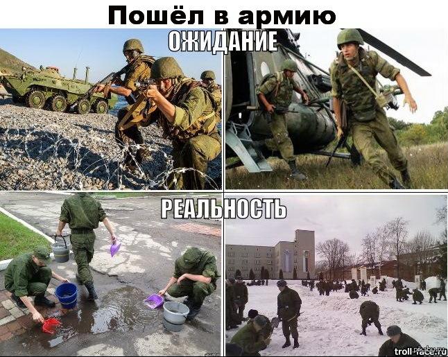 Все ли тяготы и лишения должен преодолевать солдат?