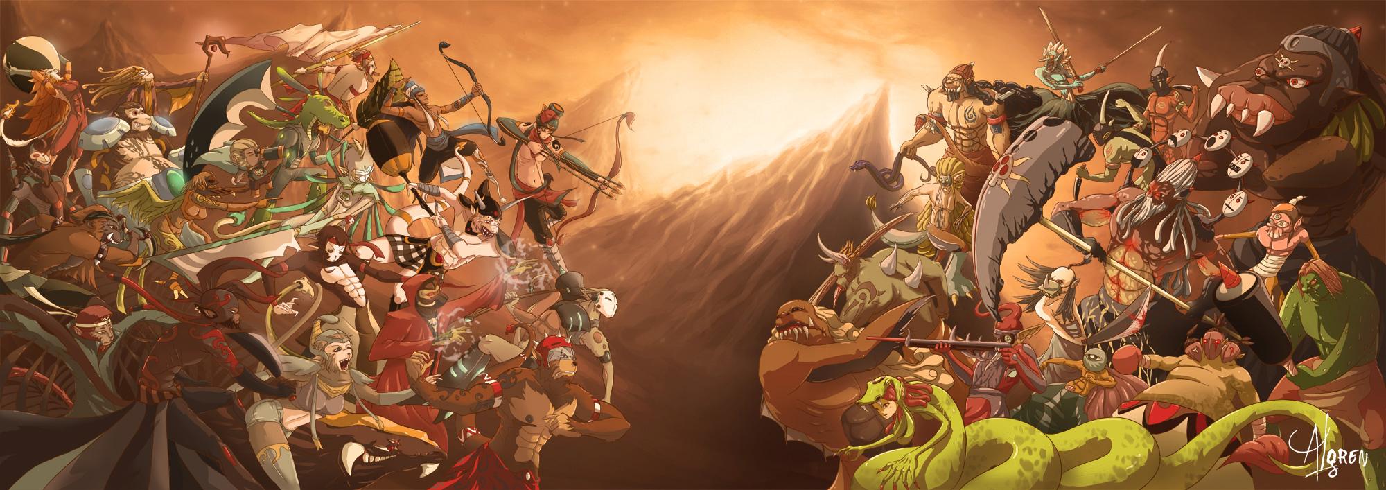 good vs evil in the ramayana