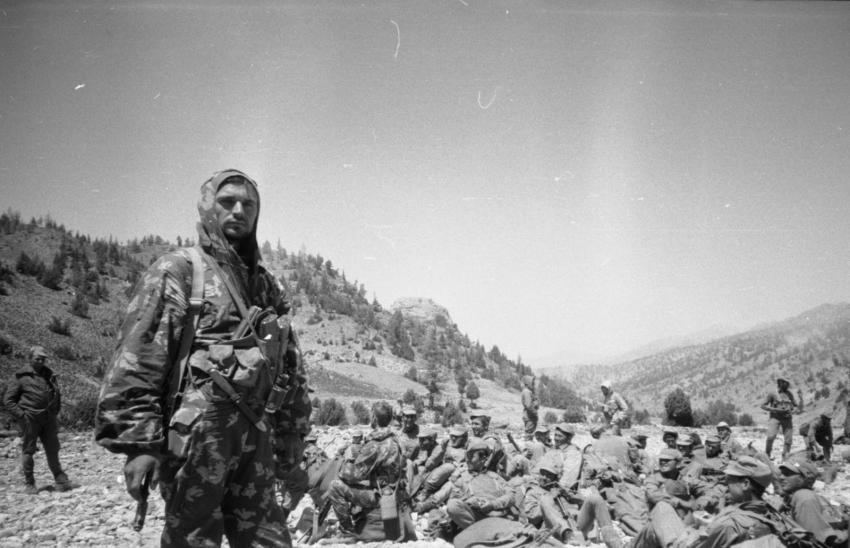 К 28-летию вывода советских войск из Афганистана.