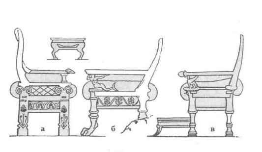это мебель в древнем риме картинки сколько