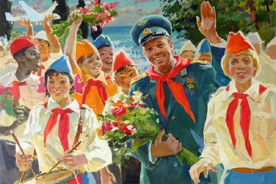 Картинки, открытка с пионерами ссср