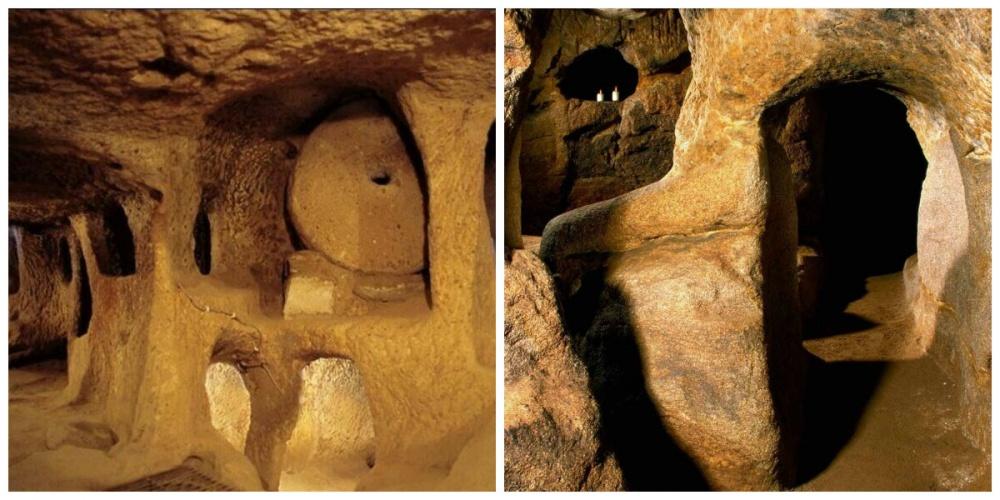 Туннели каменного века