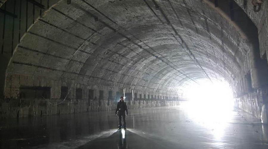 Забытая база атомных подлодок России