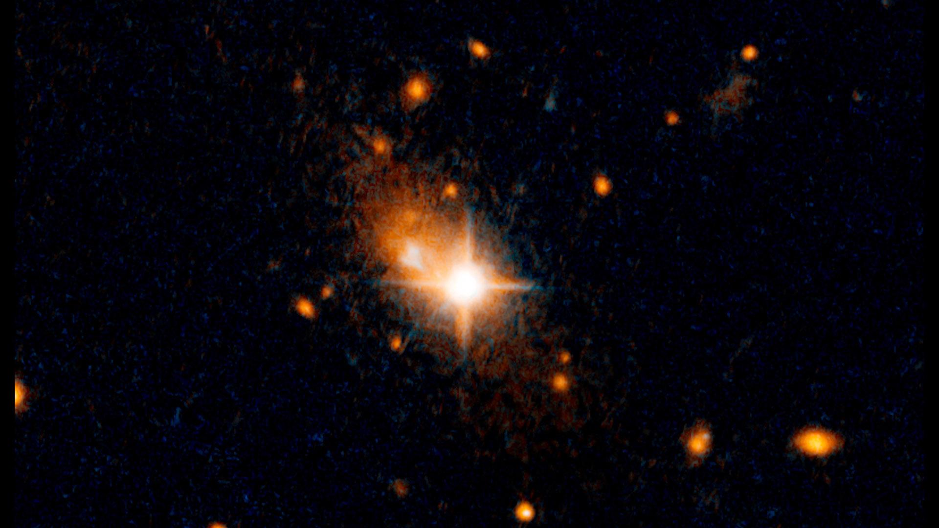 Real black hole hubble