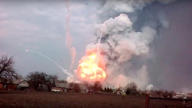 Балаклея взлетает на воздух: Украина опасна для