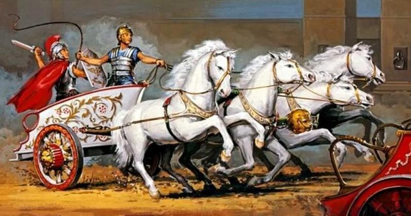 колесницы рим
