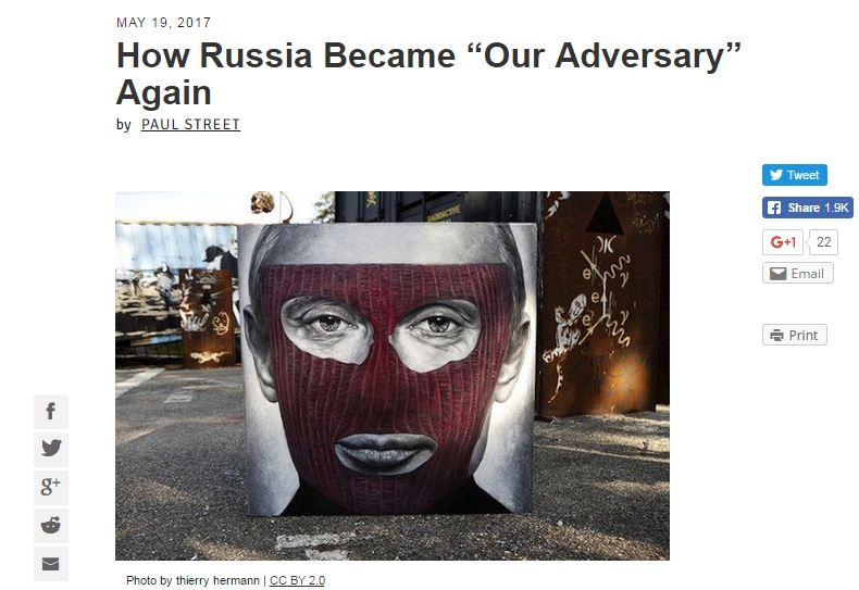 Counter Punch: Путин не должен нравиться Штатам – он должен нравиться русским