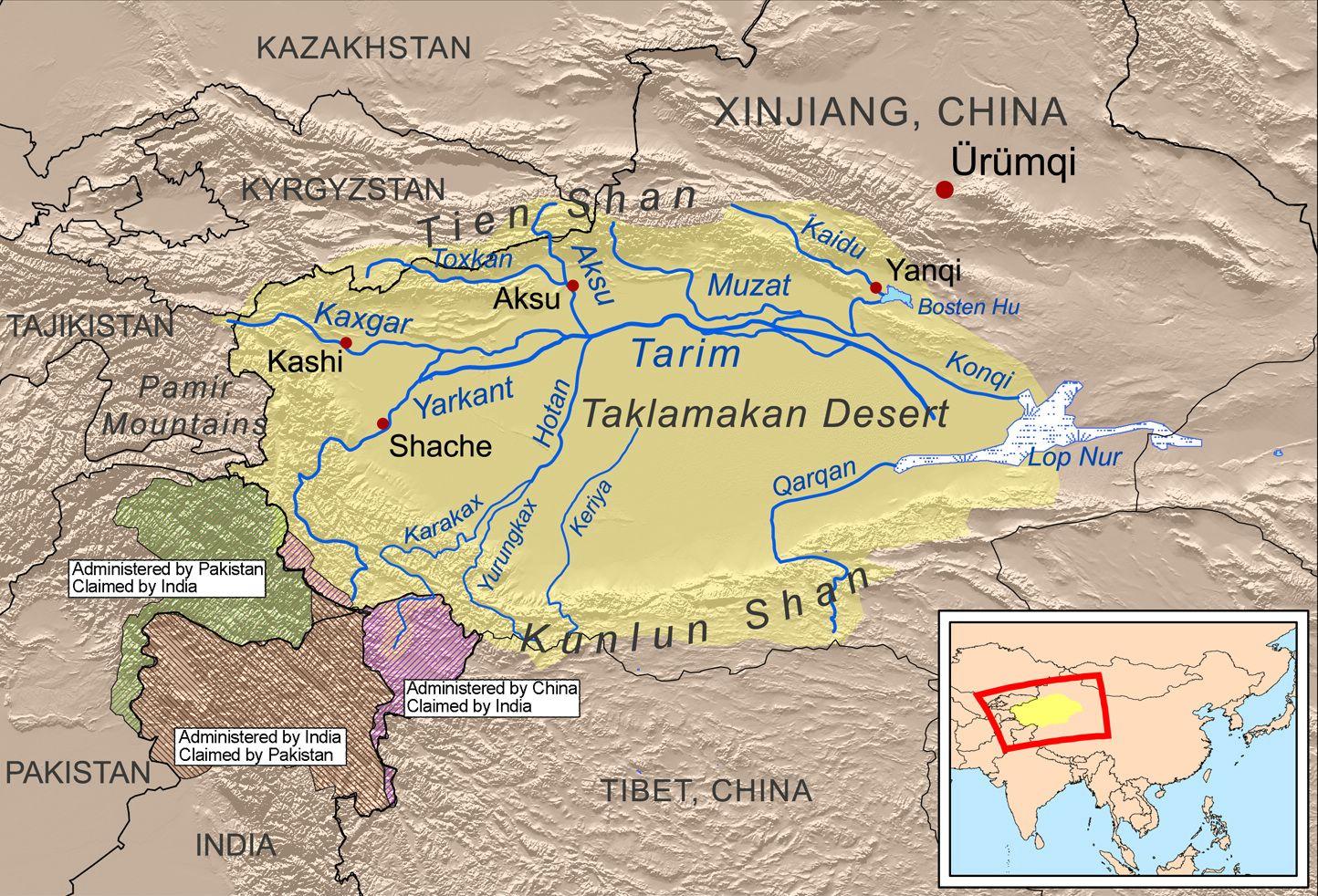 Древний Город Белых Людей посреди самой большой Пустыни Мира
