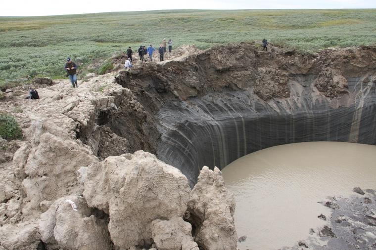 Новые кратеры..., уже в ХМАО