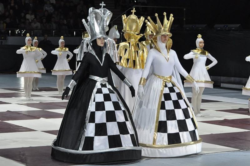 сделать шахматную корону