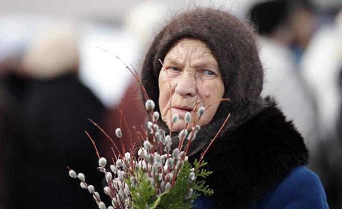 Русские пожилые раком