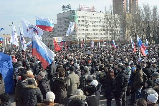 Донбасс станет российским менее чем через год