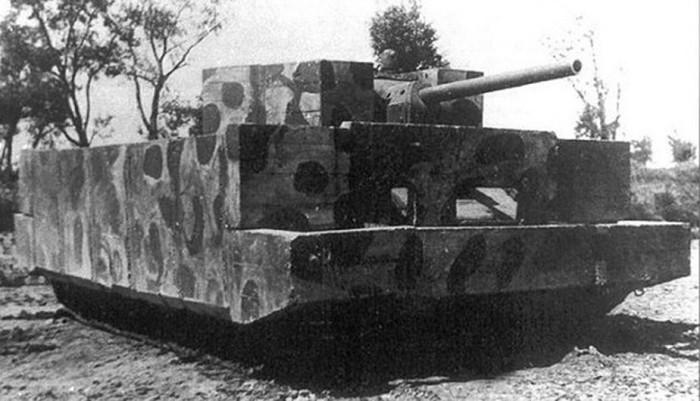 Модифицированный танк Т-34