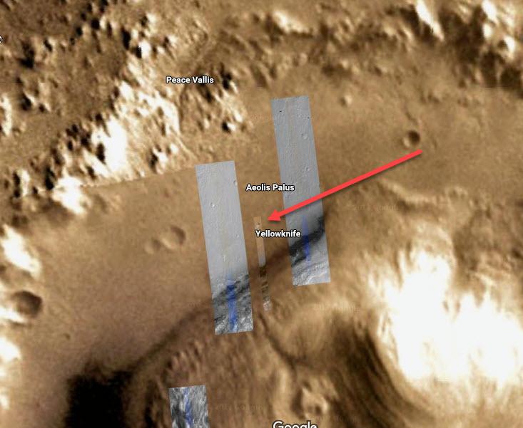 Google Space открыто показывает космическую базу на Марсе OnMars1