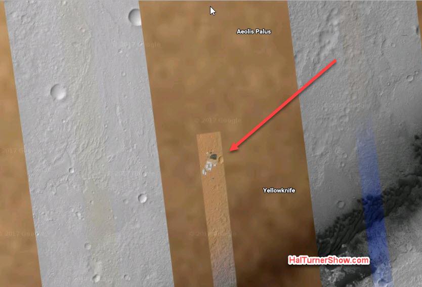 Google Space открыто показывает космическую базу на Марсе OnMars2