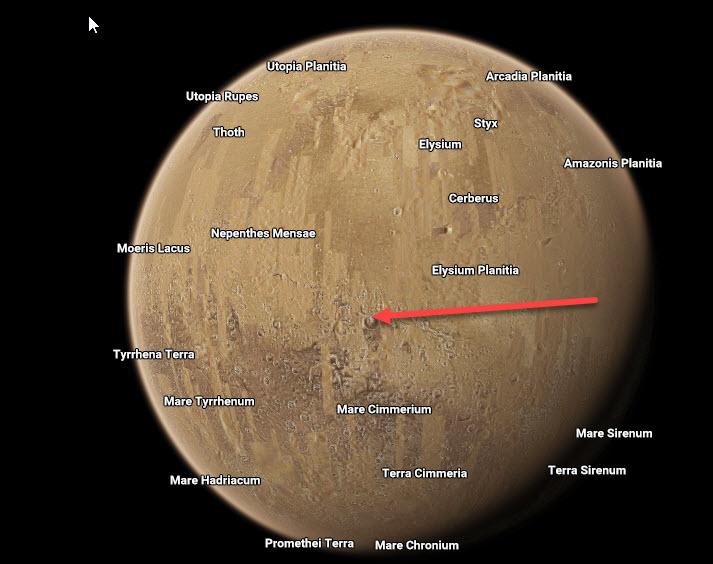 Google Space открыто показывает космическую базу на Марсе OnMars4