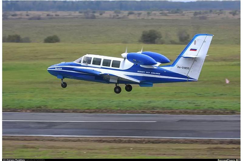 Легкий самолет-амфибия Бе-103. Цикл Авиатехника России