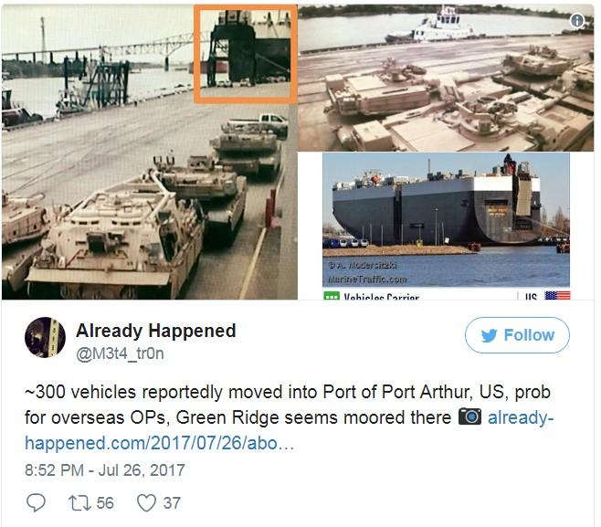 Картинки по запросу в порт Порт-Артур, США, были в срочном порядке переброшены 300 единиц танков