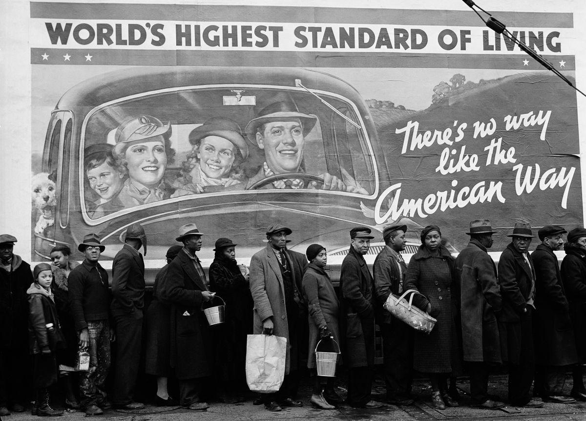'The American Way' или фотохроника Великой депрессии 1937-1940