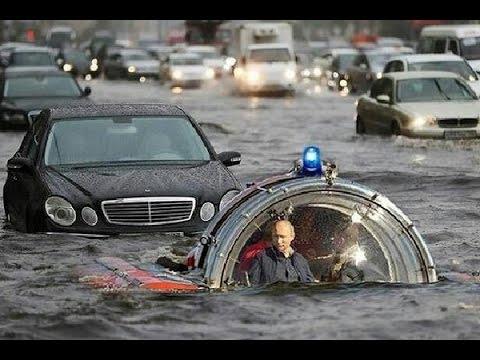BUSTED! Potvynis Hiustone, Teksaso valstijoje - tai Putino rankų darbas....