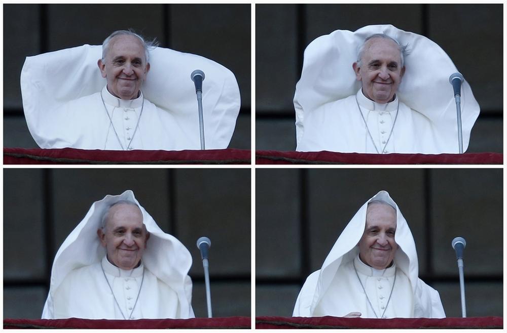 Смешные картинки про папу римского, новым