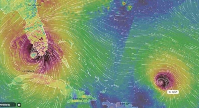 Четыре урагана, которые могут смыть Трампа