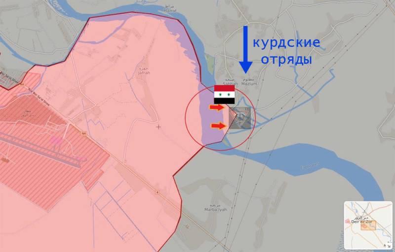 В эту ночь сирийские отряды перешли границу у реки