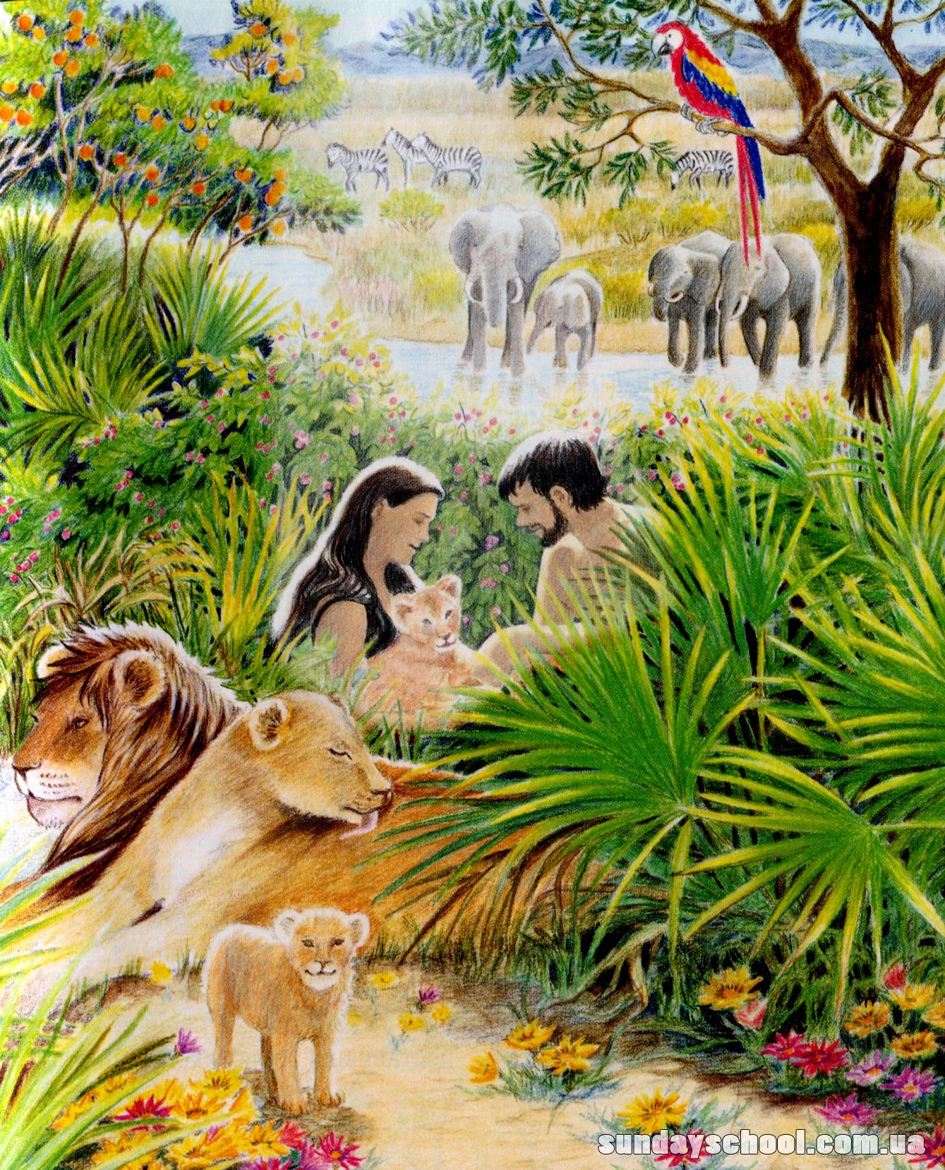 Рай картинки для детей