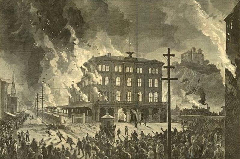 10 трагических инцидентов, когда правительство США приказало стрелять в бастовавших рабочих