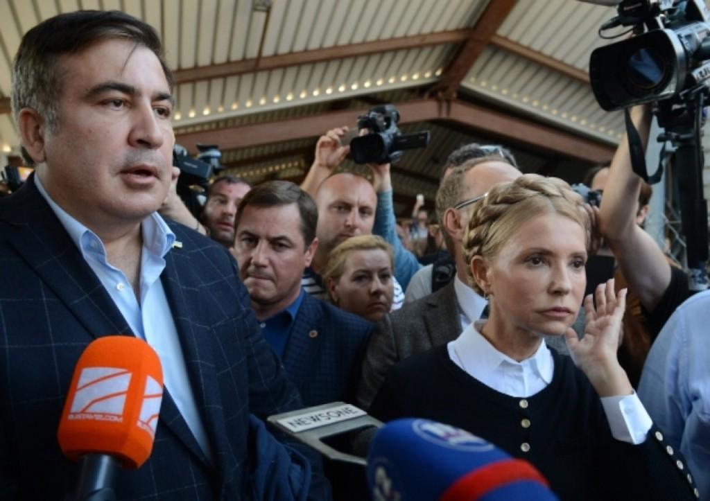 Dedefensa.org: бомж Саакашвили хорошо сочетается с Украиной