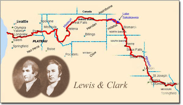 lewis ans clark expedition essay Captain lewis notices some horses, and using his spyglass discovers several indians with them this was a very unpleasant sight captain lewis decided to make the best of the situation and approach the indians in a friendly manner.