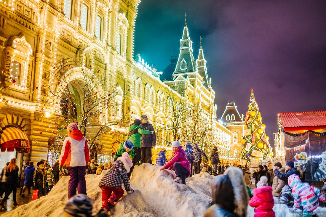 Российские новогодние картинки, надписью никто тебя