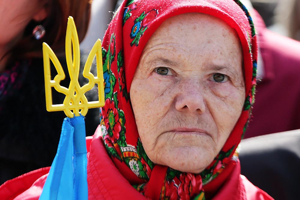 Украина: крах, не похожий на крах