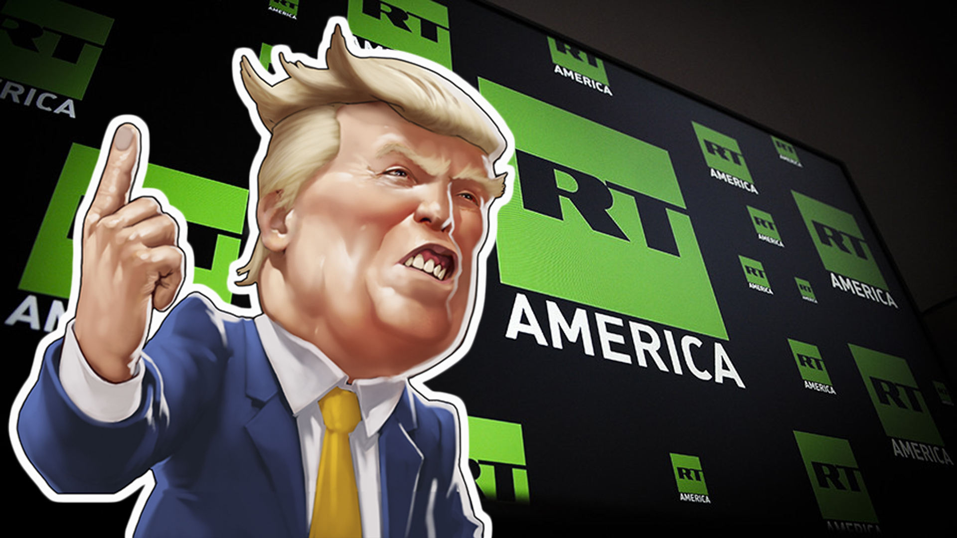 Трамп признал честность RT, не включив его в рейтинг «фейков года»