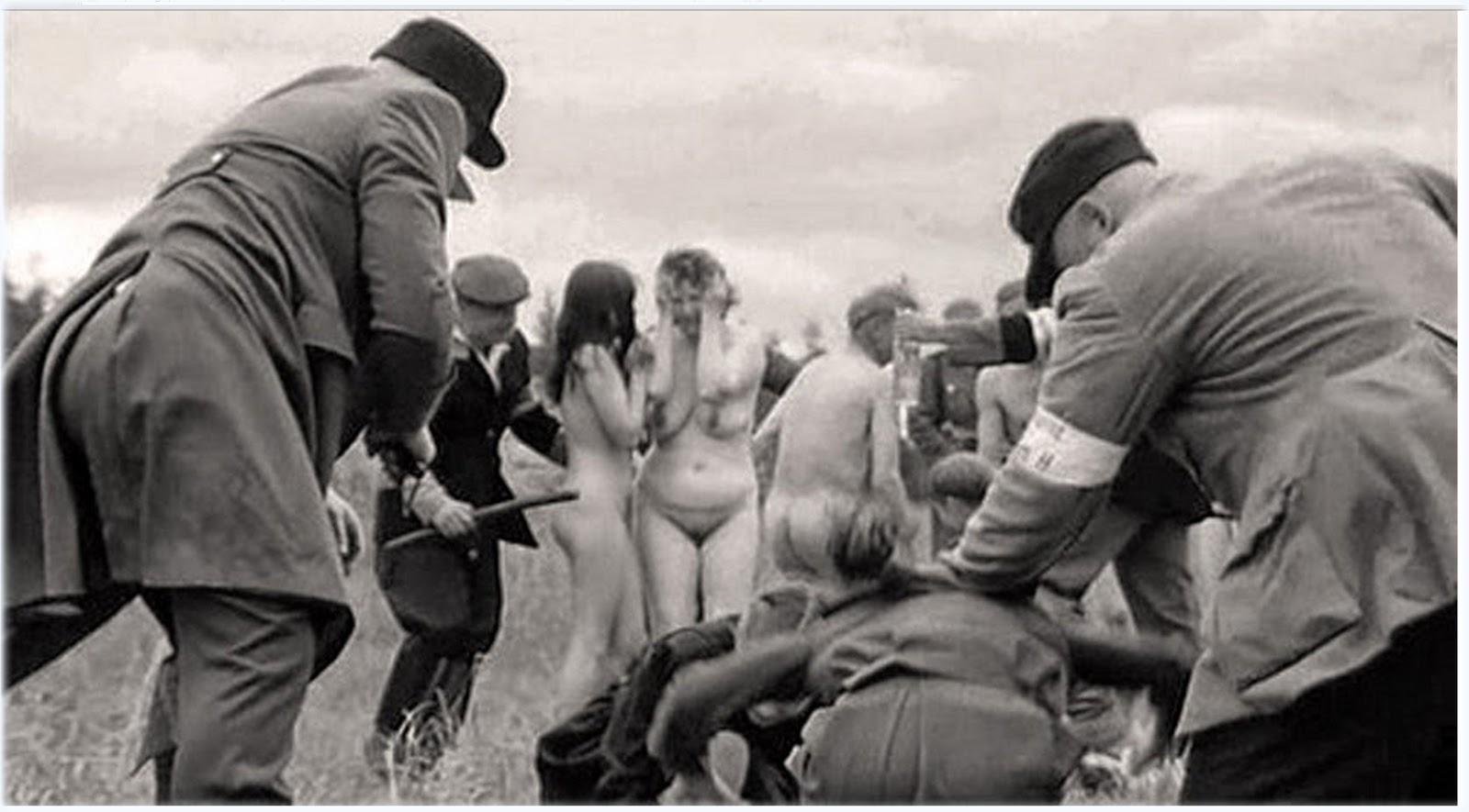 как немцы извращались над воевавшими против них девушек