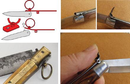 Как сделан нож складной 844